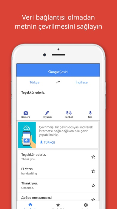 Screenshot for Google Çeviri in Turkey App Store