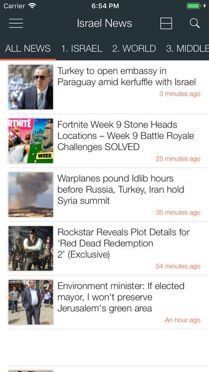 Israel News Today Reader screenshot-3