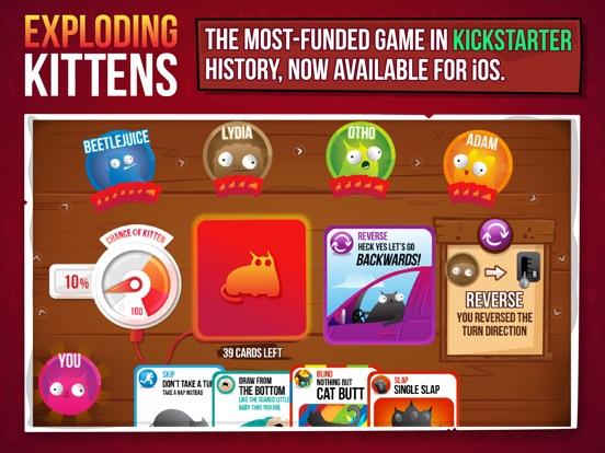 Exploding Kittens® на iPad