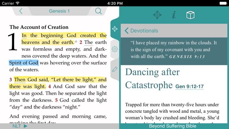 Beyond Suffering Bible screenshot-3