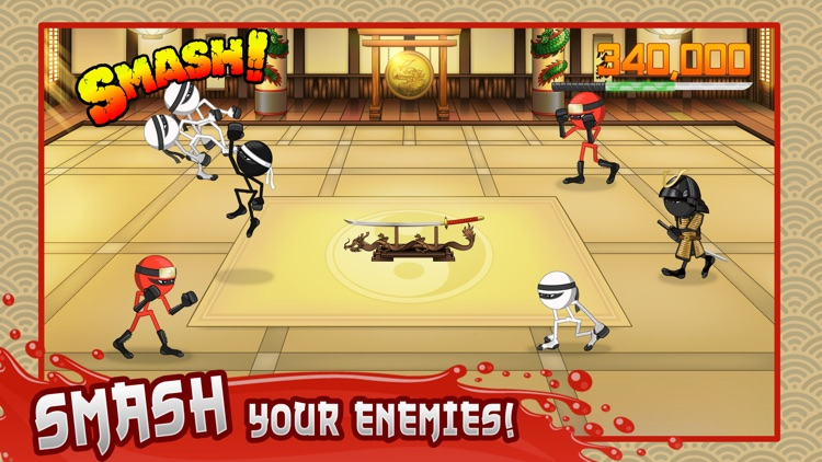 Stickninja Smash screenshot-0