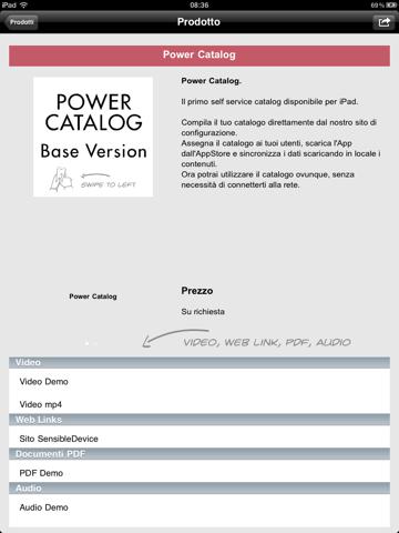 PowerCatalog - náhled