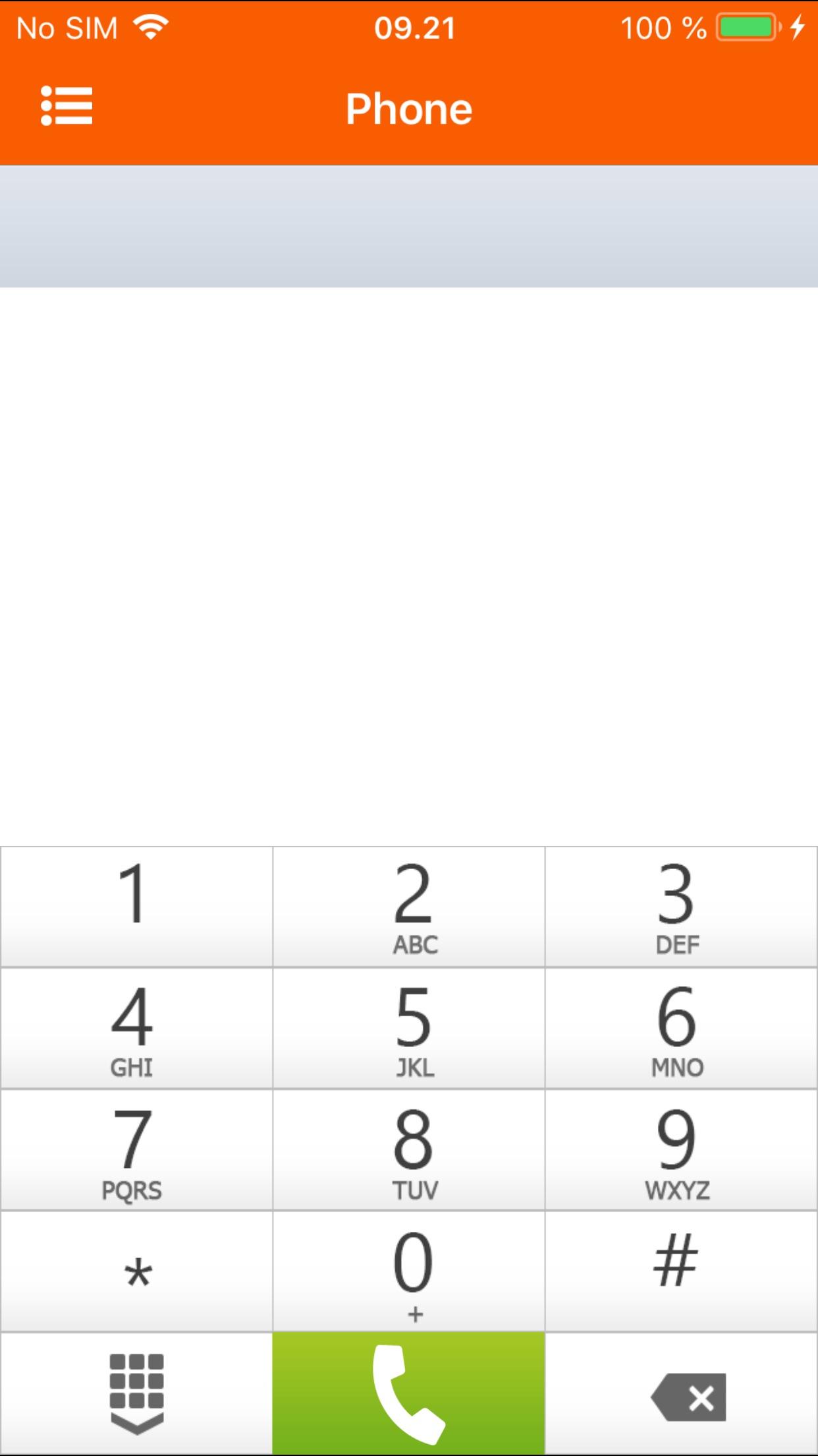 ZyMobile Operator Screenshot