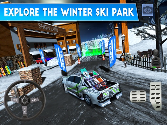 Winter Ski Park: Snow Driver для iPad