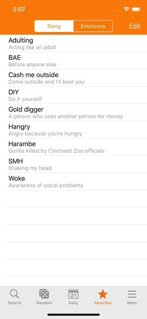 Chat Slang Dictionary On The App Store
