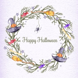Beautiful Watercolor Halloween