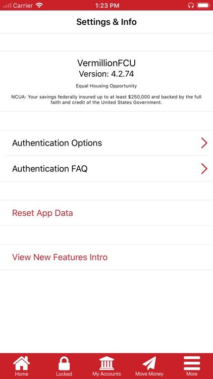 Vermillion FCU Mobile screenshot-3