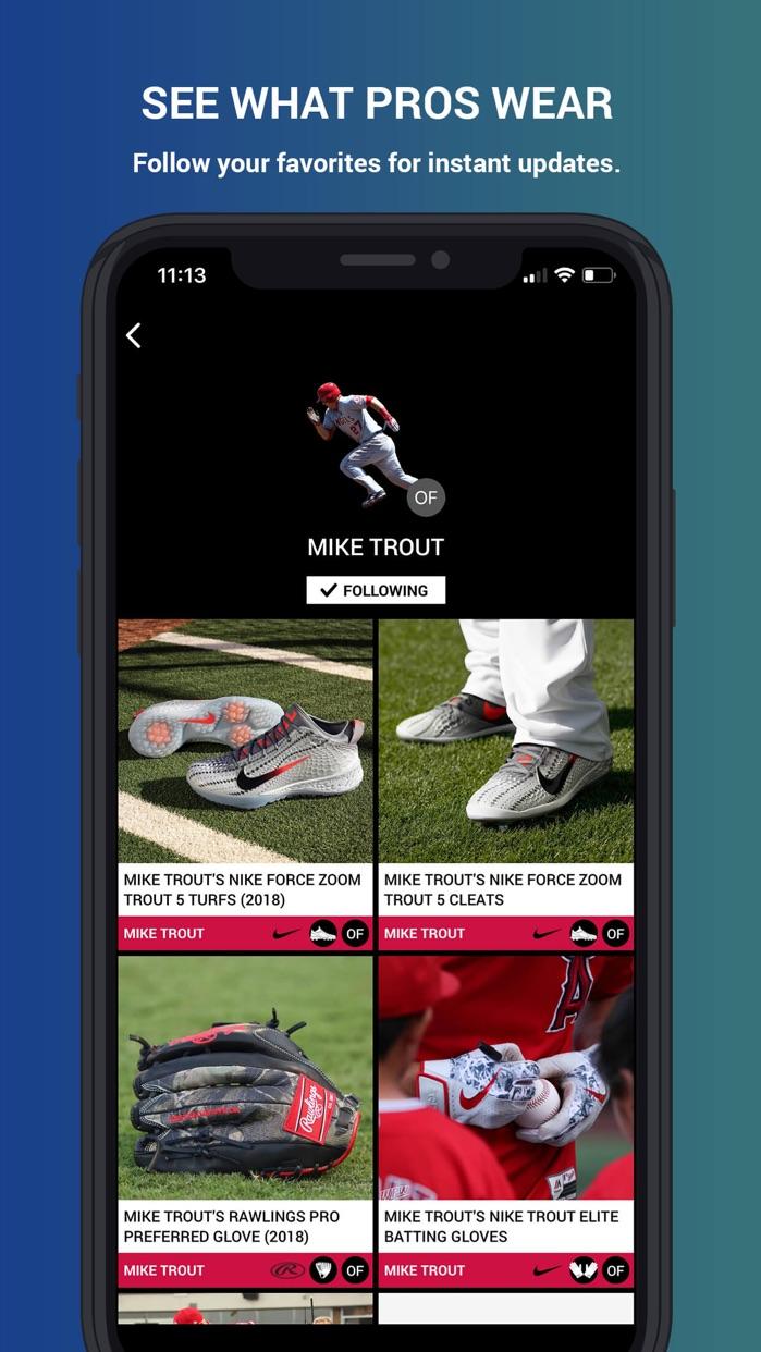 What Pros Wear Screenshot