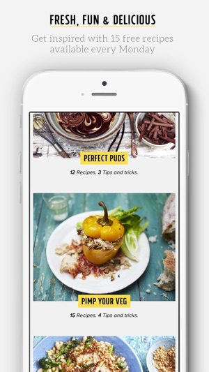Jamies recipes on the app store screenshots forumfinder Image collections