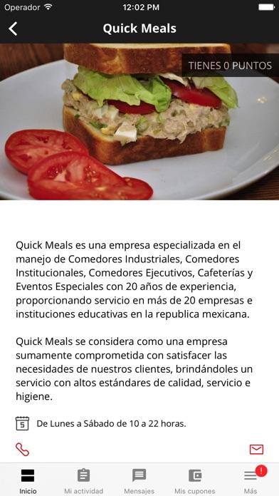 Quick Meals screenshot
