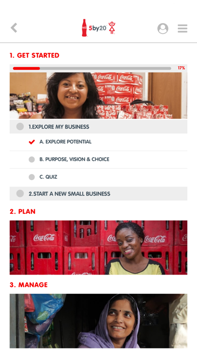 Coca-Cola 5by20 eLearning for Windows