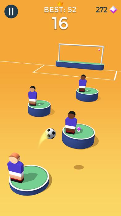 Pop Shot! Soccer screenshot 1