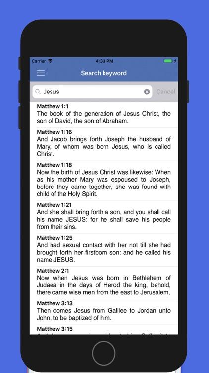 eBiblia Pro, The holy Bible screenshot-5