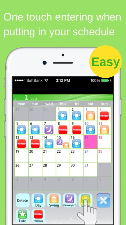 Shift Planning Calendar screenshot-3