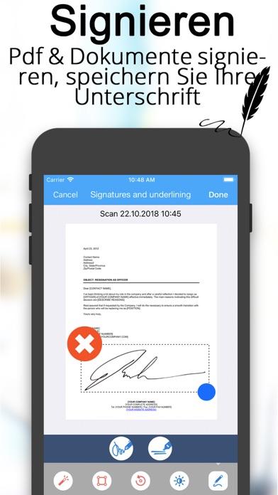 Scanner Dokumenten übersetzerScreenshot von 4