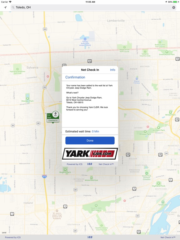 iPad Image of Yark Chrysler Jeep Dodge Ram