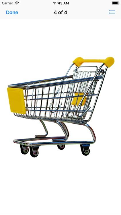 Shopping Cart Stickers screenshot-6