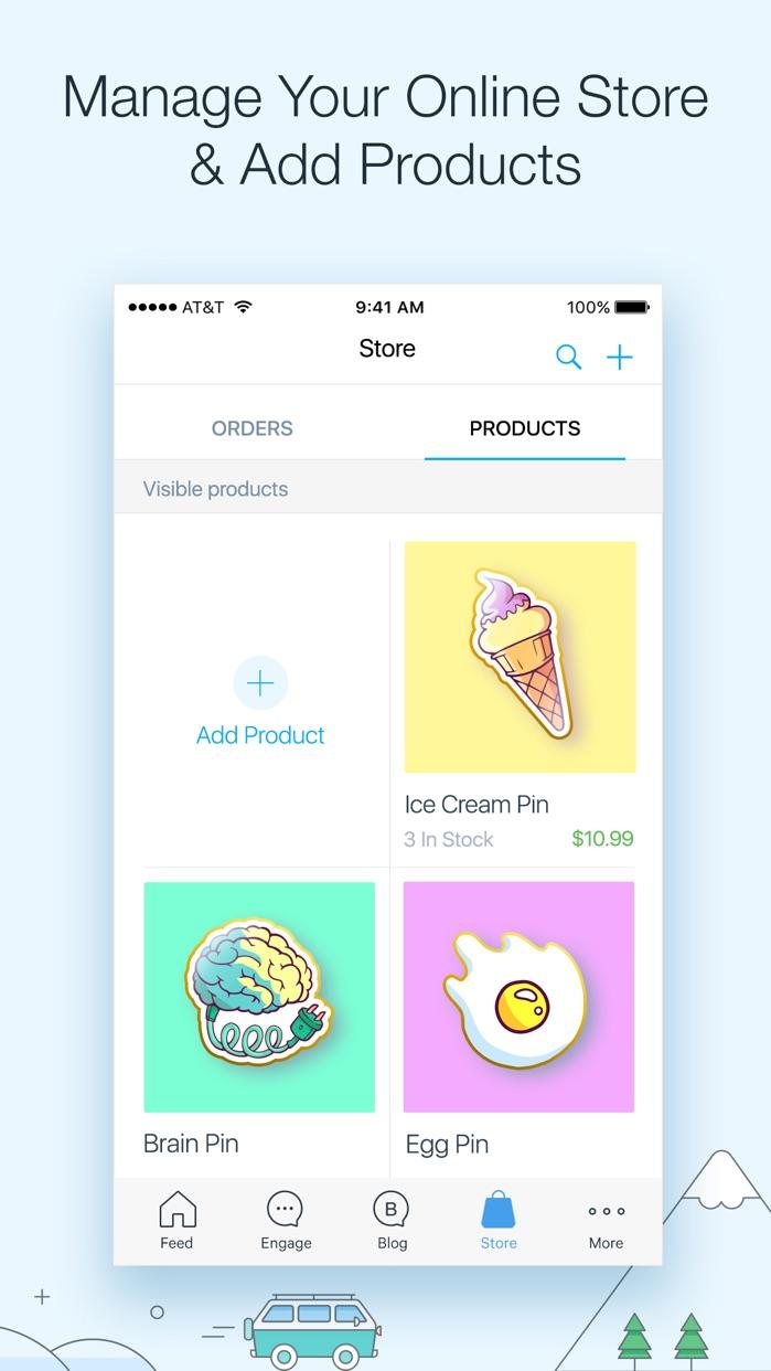 Wix.com Screenshot