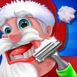 Santa Hair Shave Kids Games