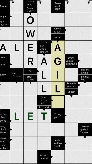 Crossword Puzzle . screenshot 4