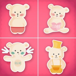 Teddy Bear Day Stickers