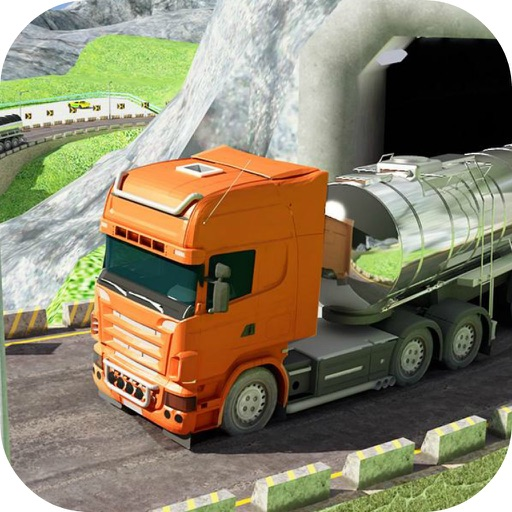 Uphill Oil Tanker Driving