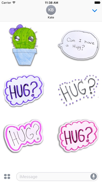 Kawaii! Cactus Stickers