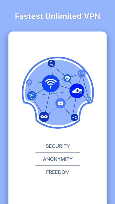 VPN Aegis Unlimited VPN Proxy Screenshot