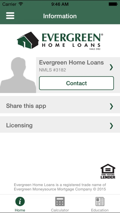 Evergreen Home Loan