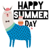 Sze Jye Ng - Summer Animal N Cactus Sticker  artwork