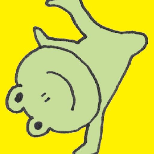 Frog PYOKOTA stickers