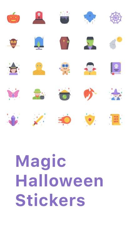 Magic Halloween Stickers