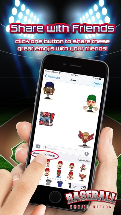 Baseball Emojis Nation screenshot-4
