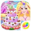 美人鱼公主蛋糕 - 甜点制作游戏大全