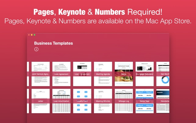 Business templates by nobody on the mac app store business templates by nobody on the mac app store friedricerecipe Images