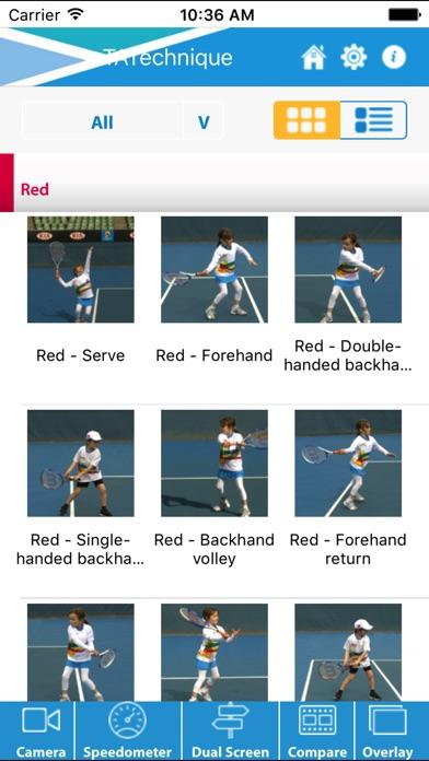 Tennis Australia Technique Screenshot 2