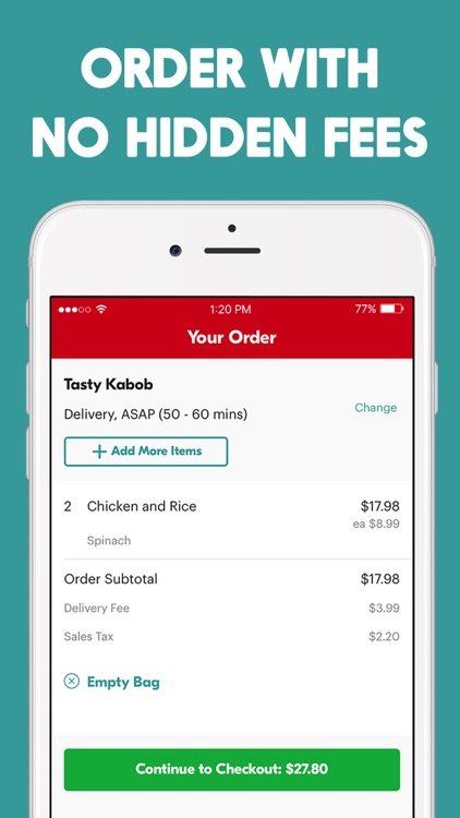 Seamless – Local Food Delivery screenshot-3