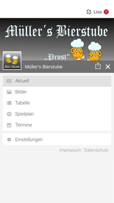 Müller's BierstubeScreenshot von 2