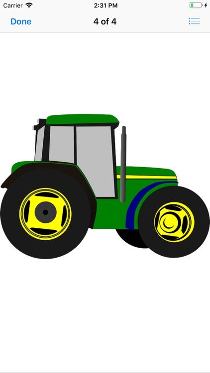 Tractor Stickers screenshot-5