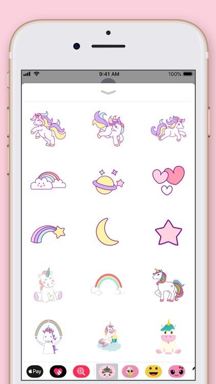 Cute Unicorn Kawaii Stickers