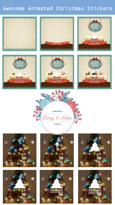 Animated Christmas Stickers - screenshot 2