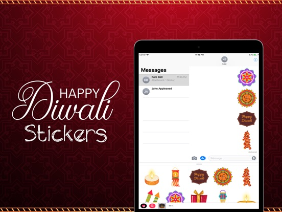 Diwali Emojis screenshot #4