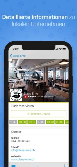 app store schweiz