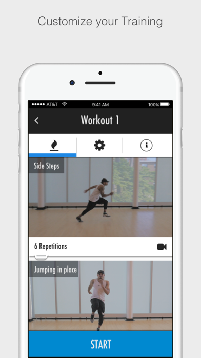 Sprinters Speed Training Screenshot