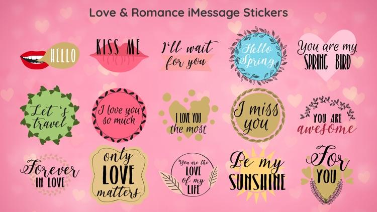 Valentines Day Love Sticker IM