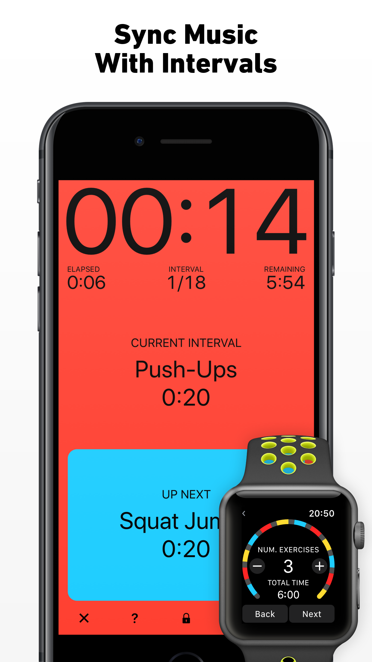 Seconds Interval Timer HIIT Screenshot