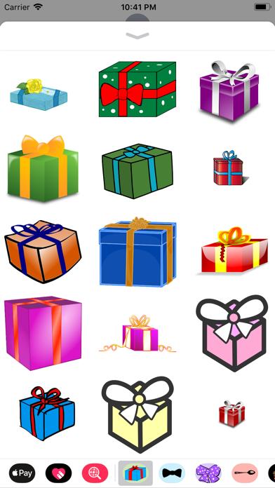 Gift Box Sticker Pack screenshot four
