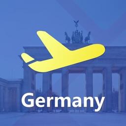 德国中文地图 - Germany离线导航