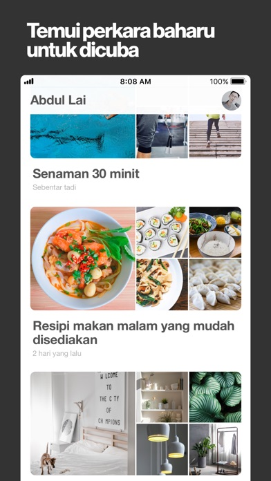 Screenshot for Pinterest in Malaysia App Store