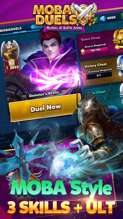 MOBA Duels